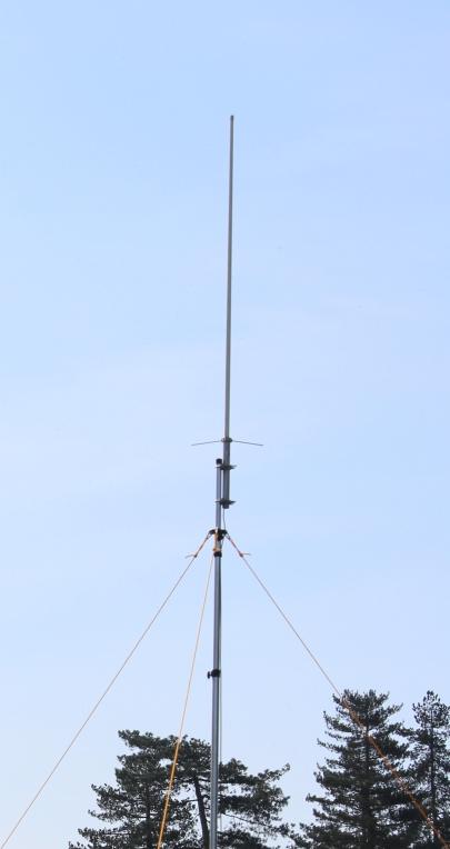 aerial on mast